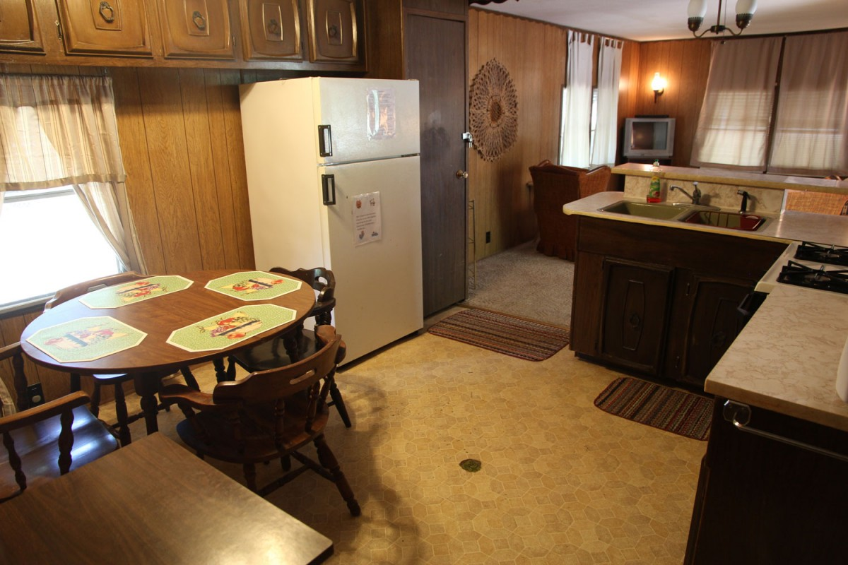 Mobile home rental lake norfork bayou resort One bedroom one bath mobile home