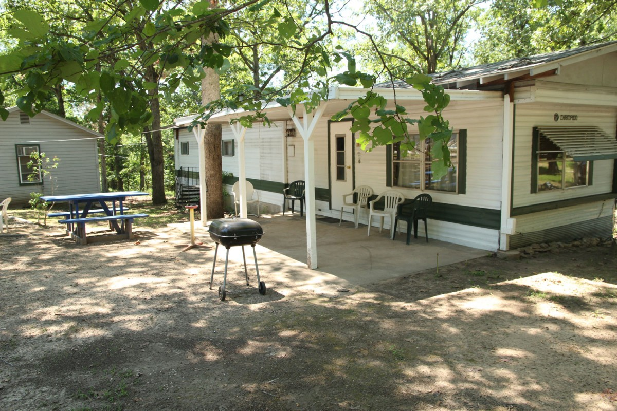 Lake norfork resort norfork lake cabins cabin rentals One bedroom one bath mobile home