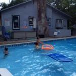 Bayou Resort Norfok Lake 4th of July Swimming